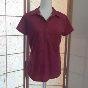 Columbia Women's short sleeve active wear shirt